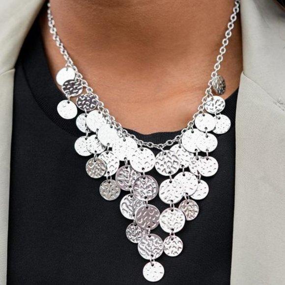 Spotlight Ready Silver Necklace